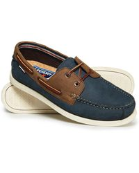 a1ee271ea Lyst - Men s Superdry Boat and deck shoes Online Sale