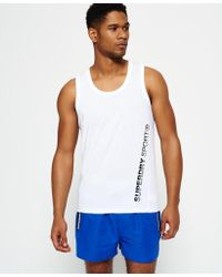 Superdry - Sports Active Relaxed Vest Top - Lyst