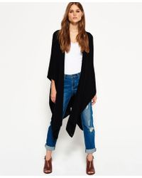 Superdry - Colby Wrap Cape - Lyst