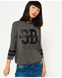 Superdry - Slouch Sport Top - Lyst