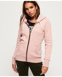 Superdry - Orange Label Elite Zip Hoodie - Lyst
