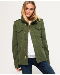 Superdry - Rookie Classic Military Jacket - Lyst