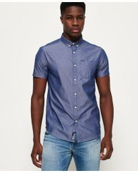 Superdry - Ultimate Pinpoint Oxford Shirt - Lyst