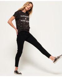 Superdry - Elana Skinny Cropped Jeans - Lyst