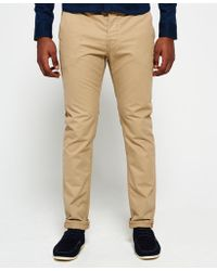 Superdry - Rookie Chino Trousers - Lyst