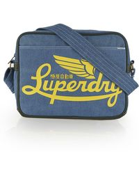 Superdry - Denim Icarus Bag - Lyst