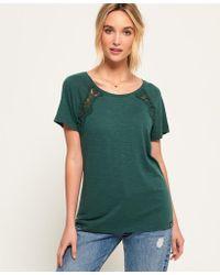 Superdry - Elizabeth Lace T-shirt - Lyst