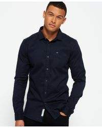 Superdry - Tailored Textured Shirt - Lyst
