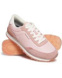 Superdry - Track Runner Trainers - Lyst
