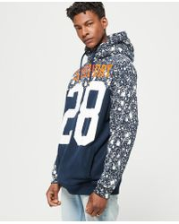 Superdry - City Number Cross Over Hoodie - Lyst