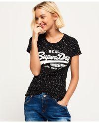 Superdry - Vintage Logo Star All Over Print T-shirt - Lyst