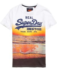 Superdry - Vintage Logo Photographic T-shirt - Lyst