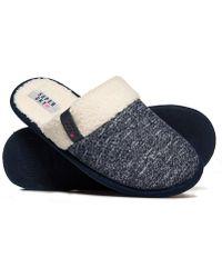 Superdry Marl Mule Slippers