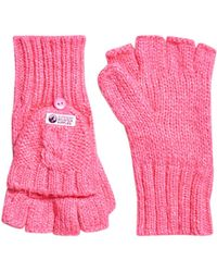 Superdry - Clarrie Mittens - Lyst