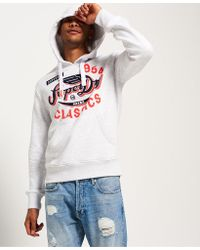 Superdry - Famous Flyers Hoodie - Lyst