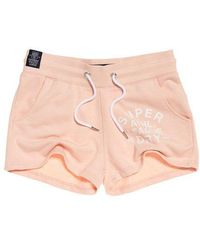 Superdry - Athletic League Loopback Shorts - Lyst