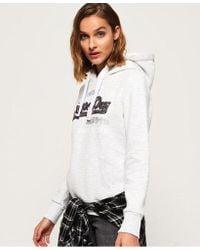 Superdry - Shirt Shop Sequin Hoodie - Lyst