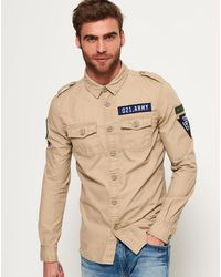 Superdry - Army Corps Lite Long Sleeve Shirt - Lyst