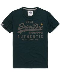 Superdry - Vintage Authentic Duo T-shirt - Lyst