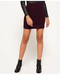Superdry - Belmont Mini Skirt - Lyst