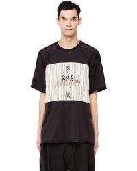 Ziggy Chen - Crew Neck Printed T-shirt - Lyst