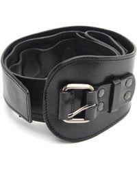 A.F.Vandevorst - Leather Magnet Belt - Lyst