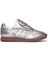 Hender Scheme - Adidas Micropacer Silver Leather Trainers - Lyst