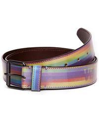 Vetements - Hologram Leather Belt - Lyst