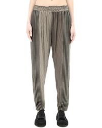 Share Spirit - Rayon And Silk Trousers - Lyst
