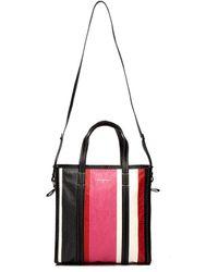 Balenciaga - Bazar S Leather Bag - Lyst
