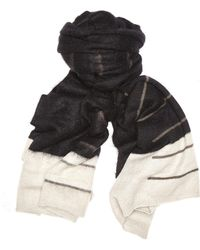 Rick Owens - Mohair And Nylon Scarf - Lyst