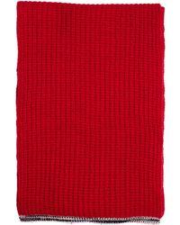 Maison Margiela - Red Cashmere Scarf - Lyst