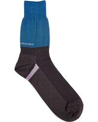 Undercover - Tri-color Socks - Lyst