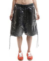 KTZ - Nylon Padded Shorts - Lyst