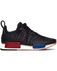 Hender Scheme - Adidas Nmd_r1 Black Leather Sneakers - Lyst