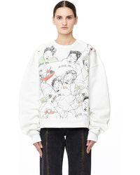 Enfants Riches Deprimes - 'west Berlin' Cotton Sweatshirt - Lyst