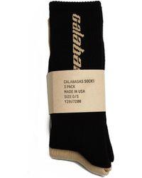Yeezy - Set Of Calabasas Socks - Lyst