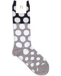 Y's Yohji Yamamoto - Cotton Socks - Lyst