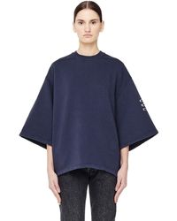 DRKSHDW by Rick Owens - 'subhuman' Patches Cotton Top - Lyst