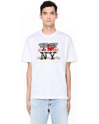 Vetements - White New York Tourist T-shirt - Lyst