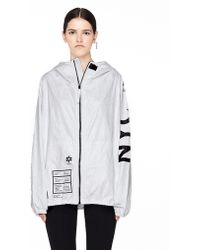 Ueg - Nyc Printed Tyvek Jacket - Lyst