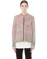 By Walid - Svmoscow Exclusive Bomber Jacket - Lyst
