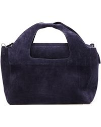 The Row - Two For One Suede Bag - Lyst