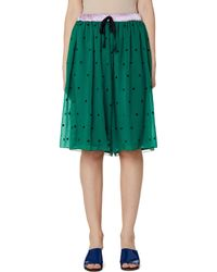 Undercover - Green Embroidered Shorts - Lyst