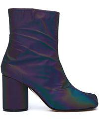 Maison Margiela - Holographic Tabi Ankle Boots - Lyst