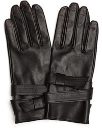 Yohji Yamamoto - Leather Wrist Belt Gloves - Lyst