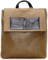 Maison Margiela - Leather Backpack - Lyst