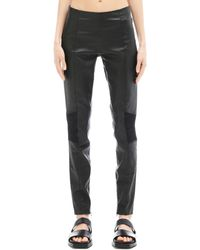 A.F.Vandevorst - Leather Trousers - Lyst