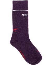 Vetements - X Reebok Edition Classic Socks - Lyst
