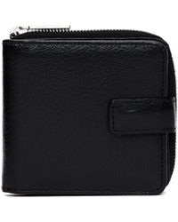 Yohji Yamamoto - Black Leather Wallet - Lyst